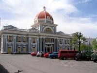 Gebäude am Parque Martí in Cienfuegos