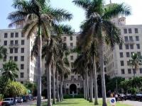 Eingang des Hotel Nacional in Havanna