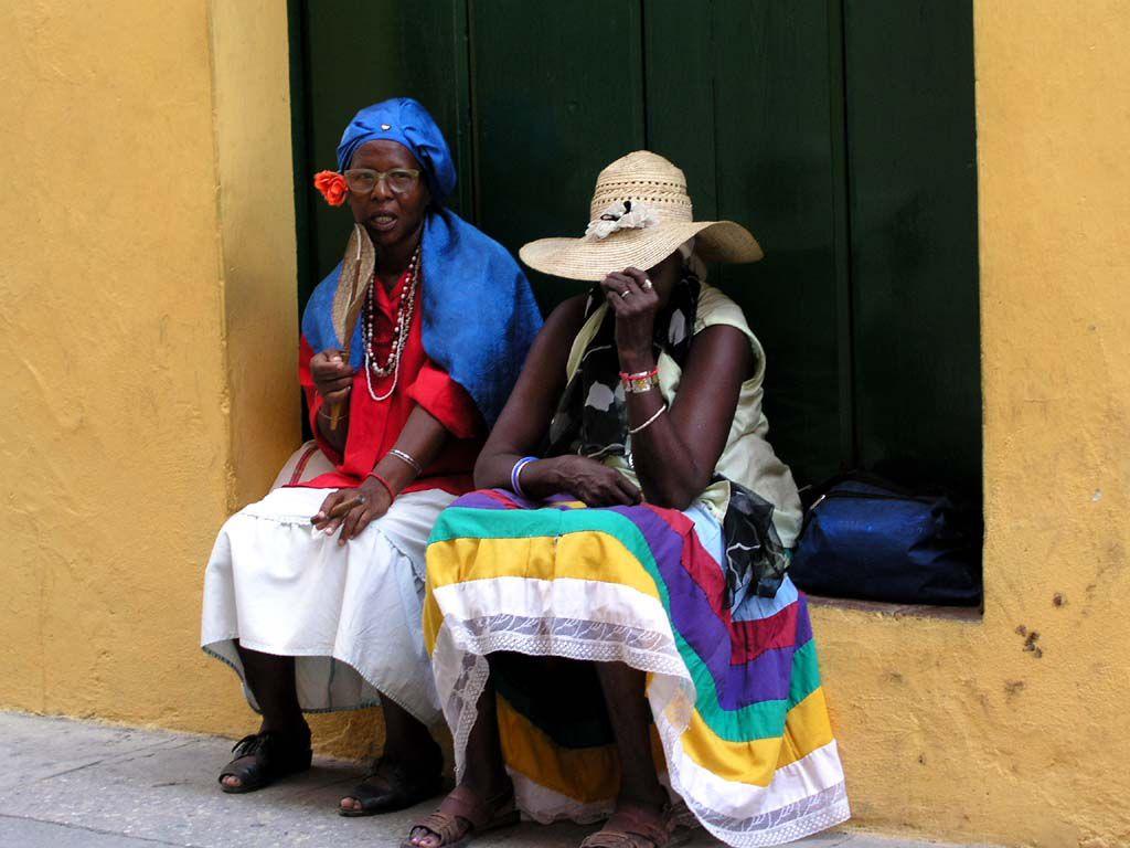 Frauen in Havannas Altstadt
