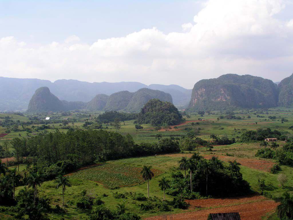 Blick über das Tal von Vinales