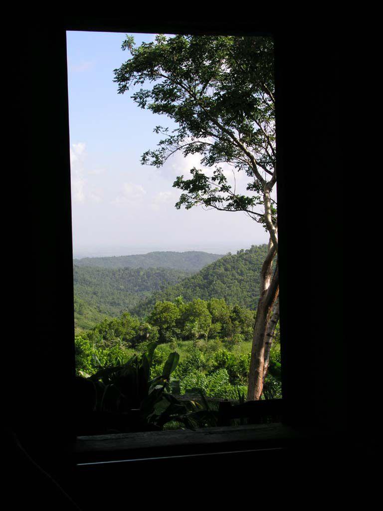 Blick über die Natur von Las Terrazas