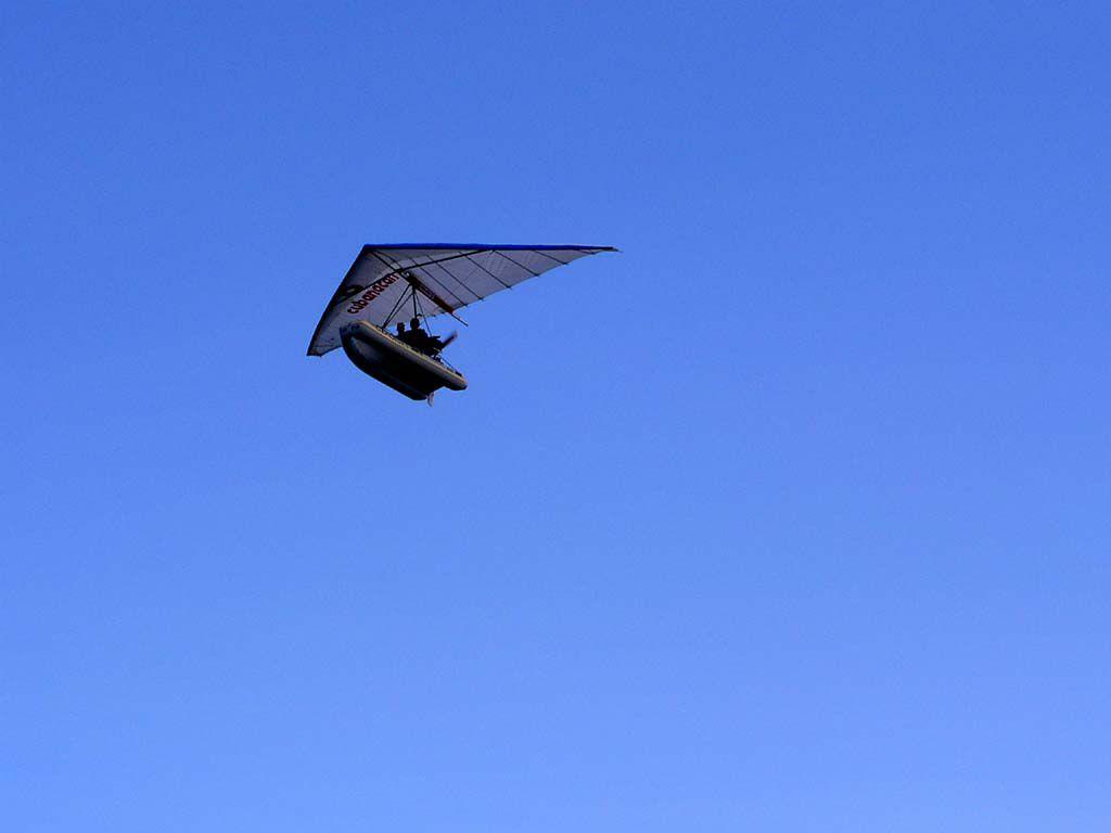Ultraleichtflugzeug fliegen am Hotel Las Brisas Guardalavaca