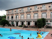 Hotel Los Jazmines über dem Tal von Vinales