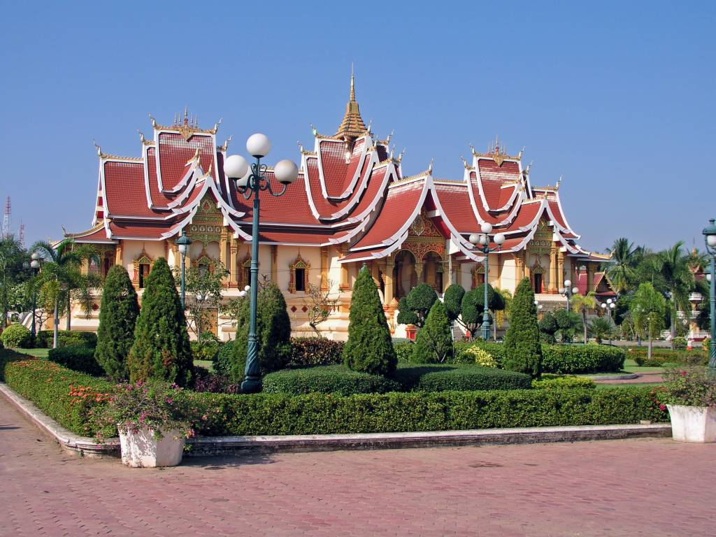 Vientiane, Wat Thatluang Neua Tempel