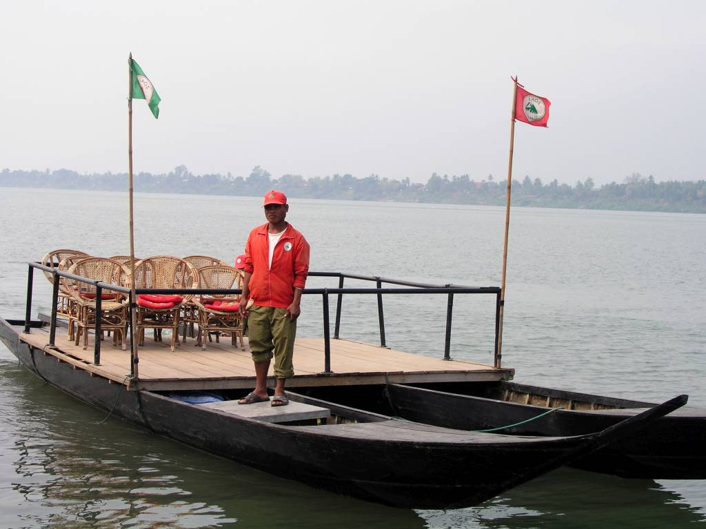 Ban Dondou, Abfahrt nach Ban Vangxay