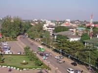 Vientiane, Blick vom Patuxay Monument