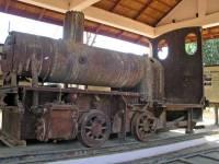 Ban Khon Tai, alte Lokomotive