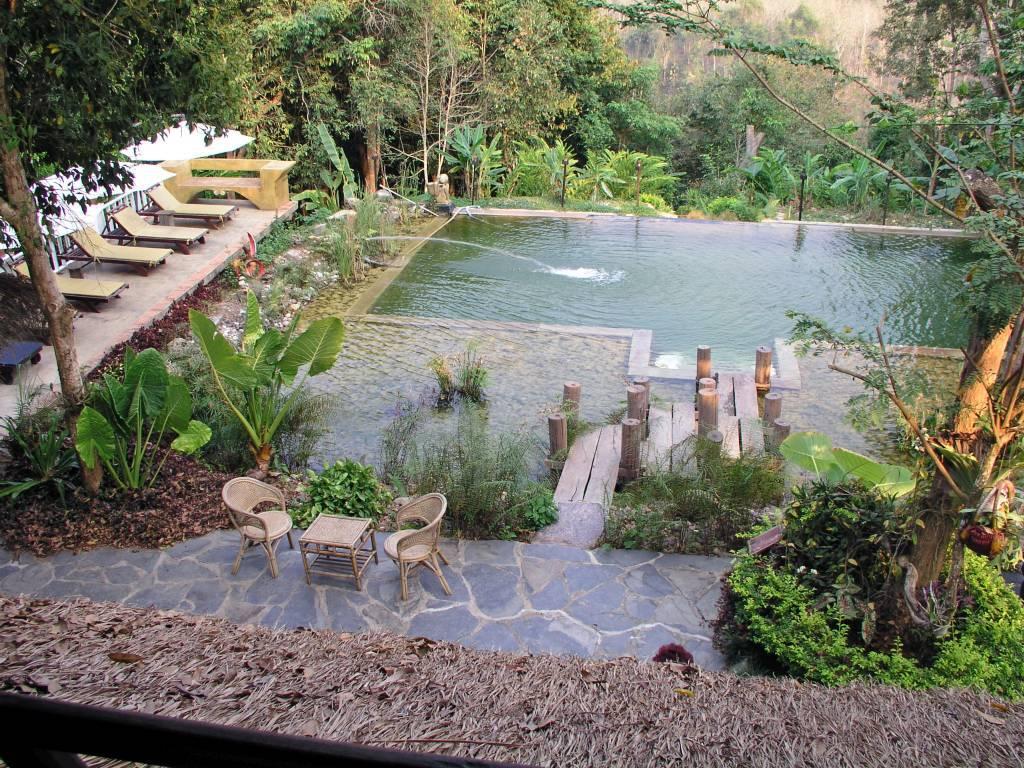 Ban Xianglôm, Zen Namkhan Boutique Resort, Pool