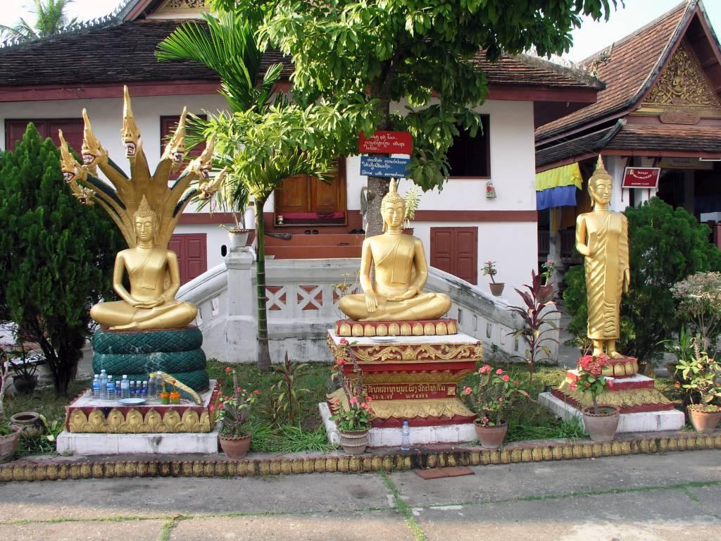 Luang Prabang, Wat Mai Kloster