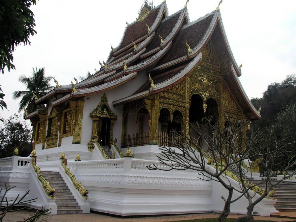 Luang Prabang, Haw Pha Bang Tempel