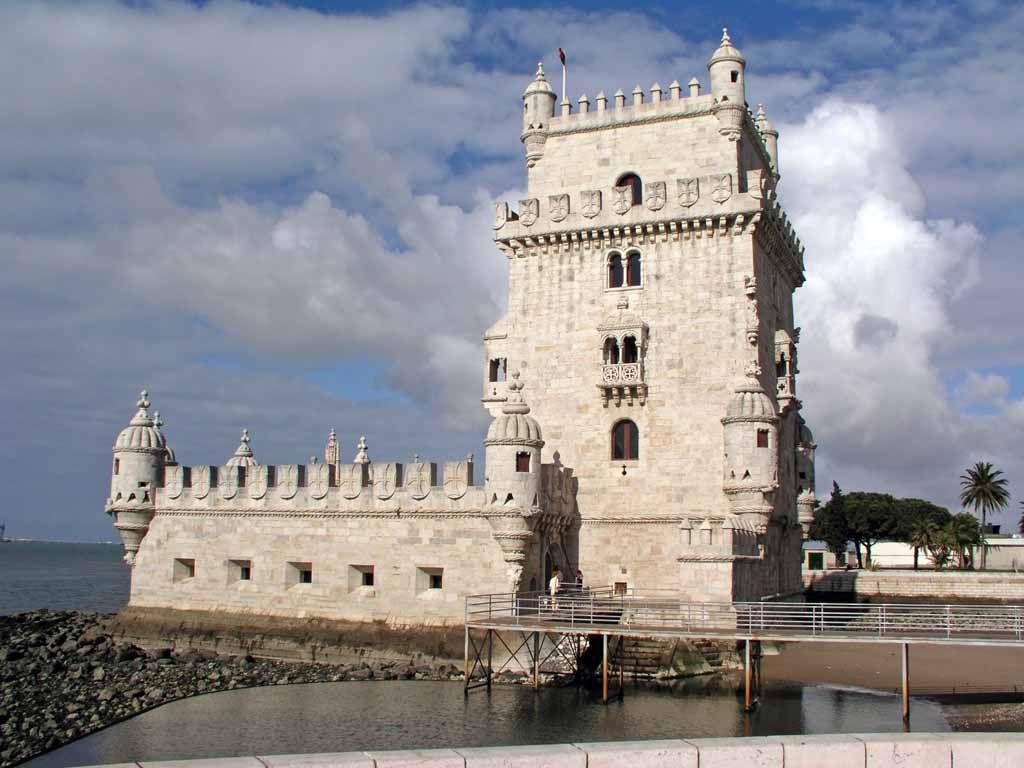 Das Wahrzeichen von Lissabon, der Torre de Belém