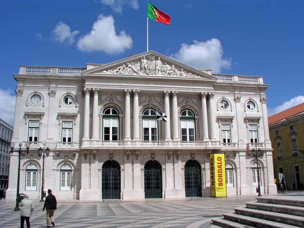 Das Rathaus von Lissabon