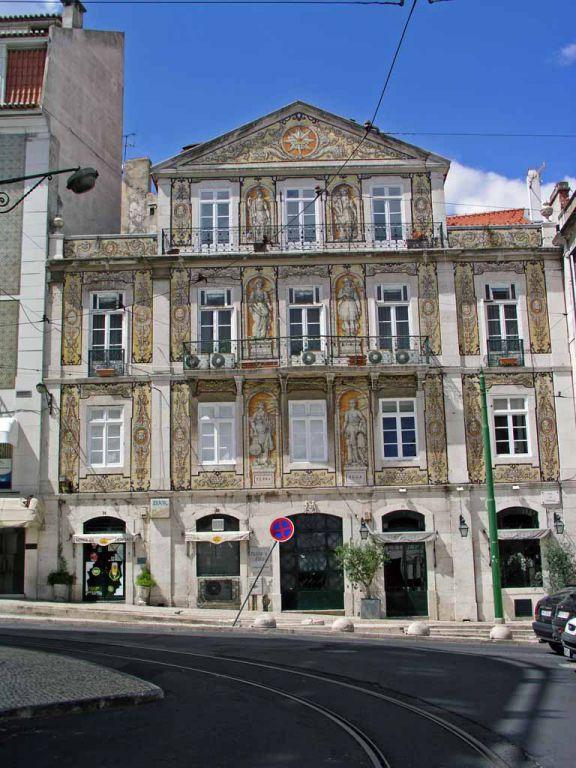 Wohnhaus des Dichters Bordalo Pinheiro