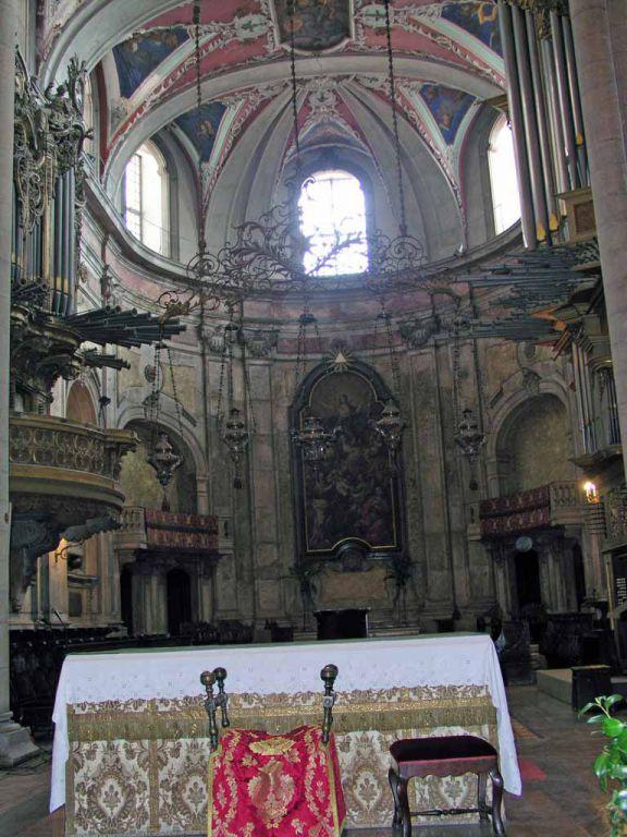 In der Sé, der Kathedrale von Lissabon