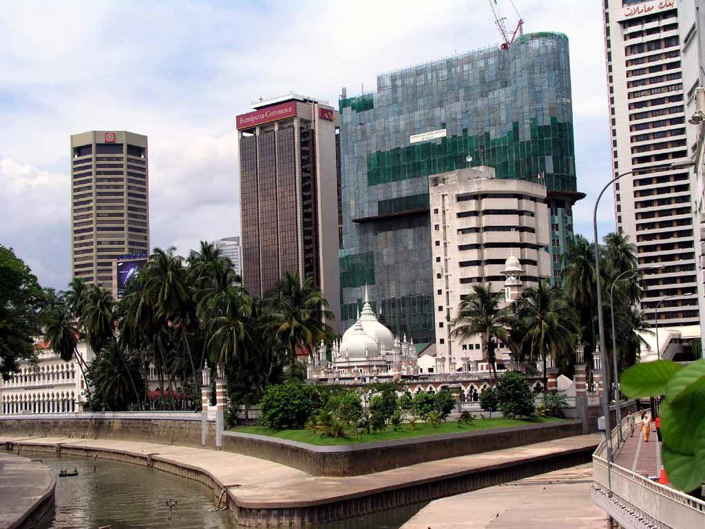 Der Zusammenfluss von Kelang und Gombak, diese Stelle gab Kuala Lumpur den Namen