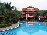 Pool des Hotel Holiday Villa in Cherating