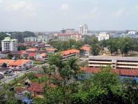 Blick über Kuala Terengganu