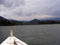 Auf dem Temenggor See