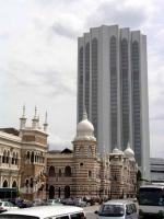 Sultan Abdul Samad Gebäude, im Hintergrund der Dayabumi Komplex