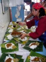Speisenzubereitung in einem indischen Restaurant in Kota Bharu