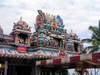 Hindu Tempel auf dem Penang / Pinang Hill