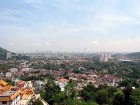 Blick über Georgetown vom Tempel Kek Lok Si aus