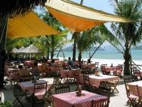 Restaurant des Beach Garden Hotel auf Langkawi