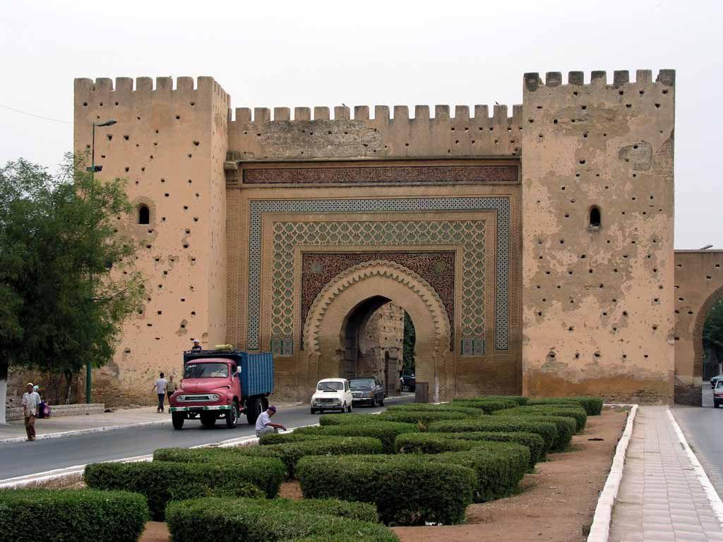 Meknes, Bab el Khmis, das Donnerstagstor