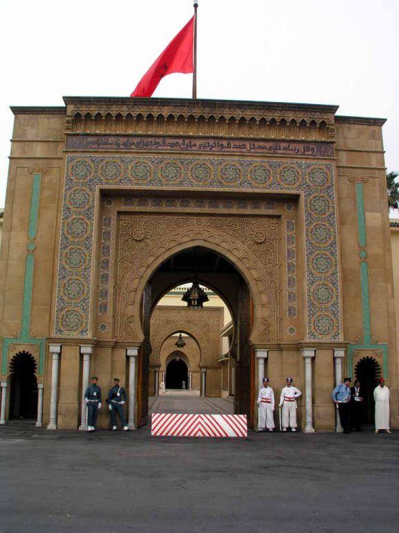 Rabat, Eingang zum Königspalast