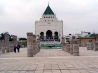 Rabat, Vorplatz Mausoleum Hassan V.