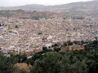 Fes, Blick über die Altstadt