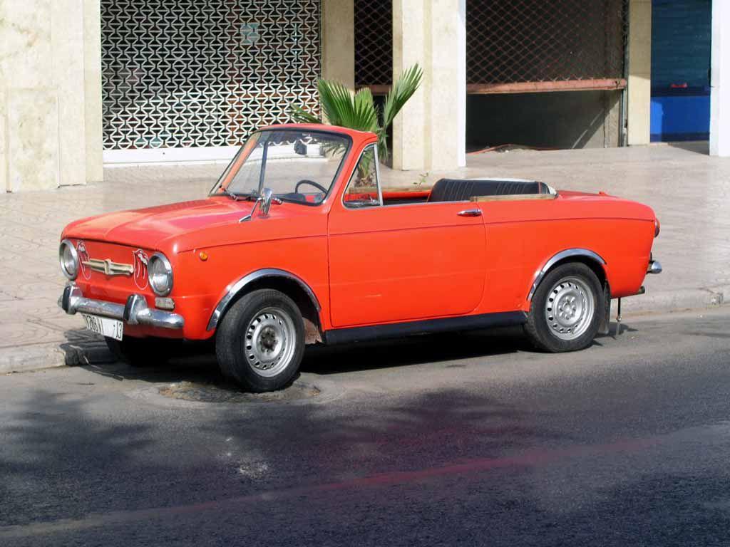 Auto in den Straßen Agadirs