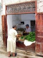 Geschäft in der Medina von Fes