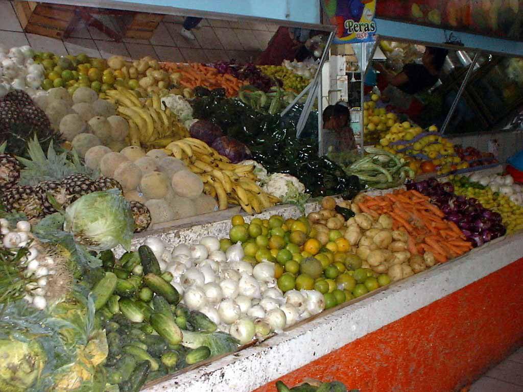 In der Markthalle von San Blas
