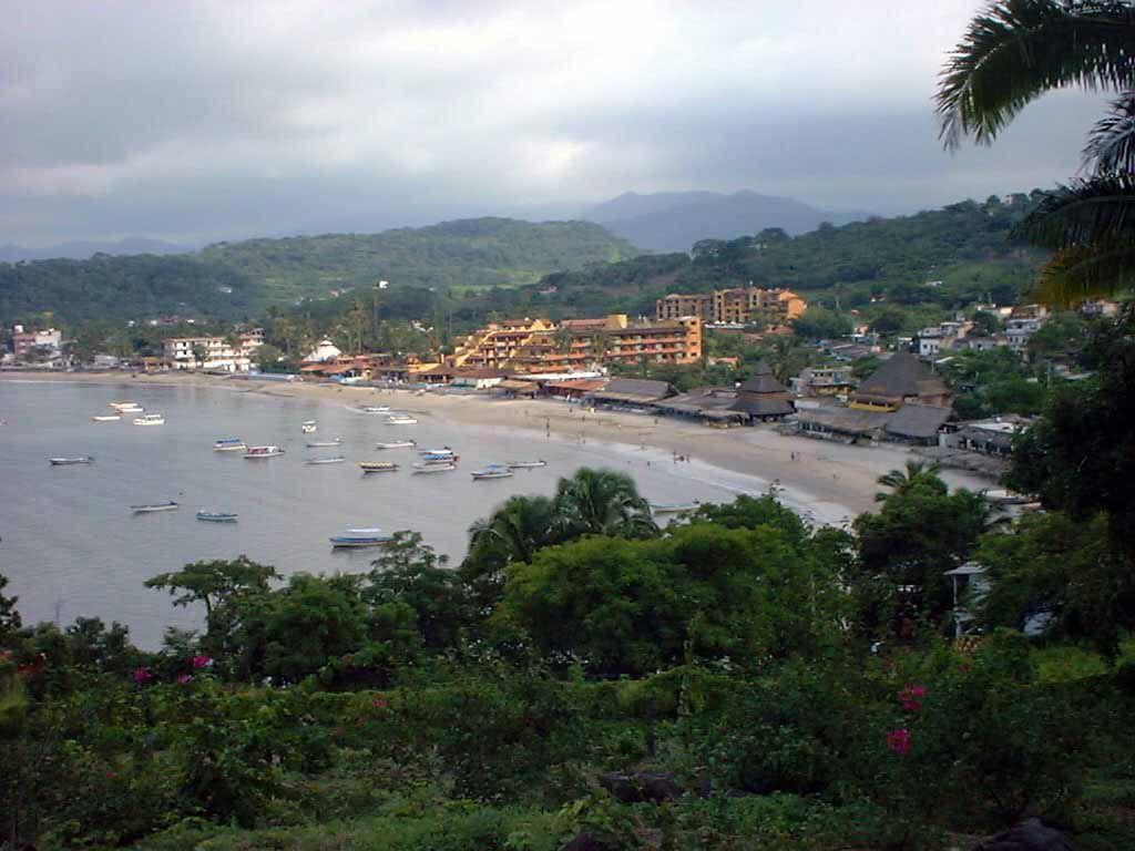Blick auf die Bucht von Guayabitos