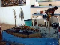Imbissverkäufer am Guayabitos Strand