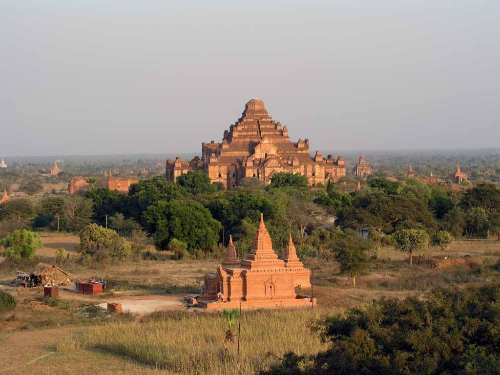Bagan, Pagode