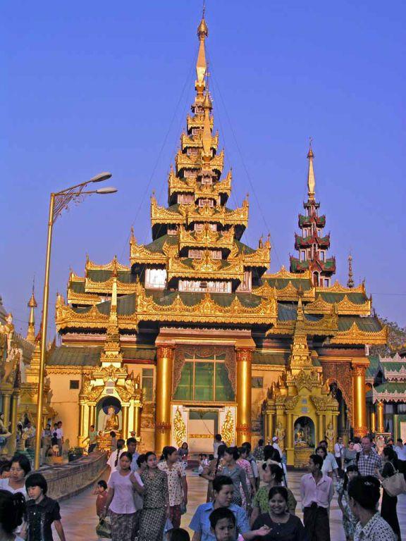 Yangon, Shwedagon Pagode
