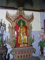Yangon, Statue in der Kyauk-htat-gyi-Pagode
