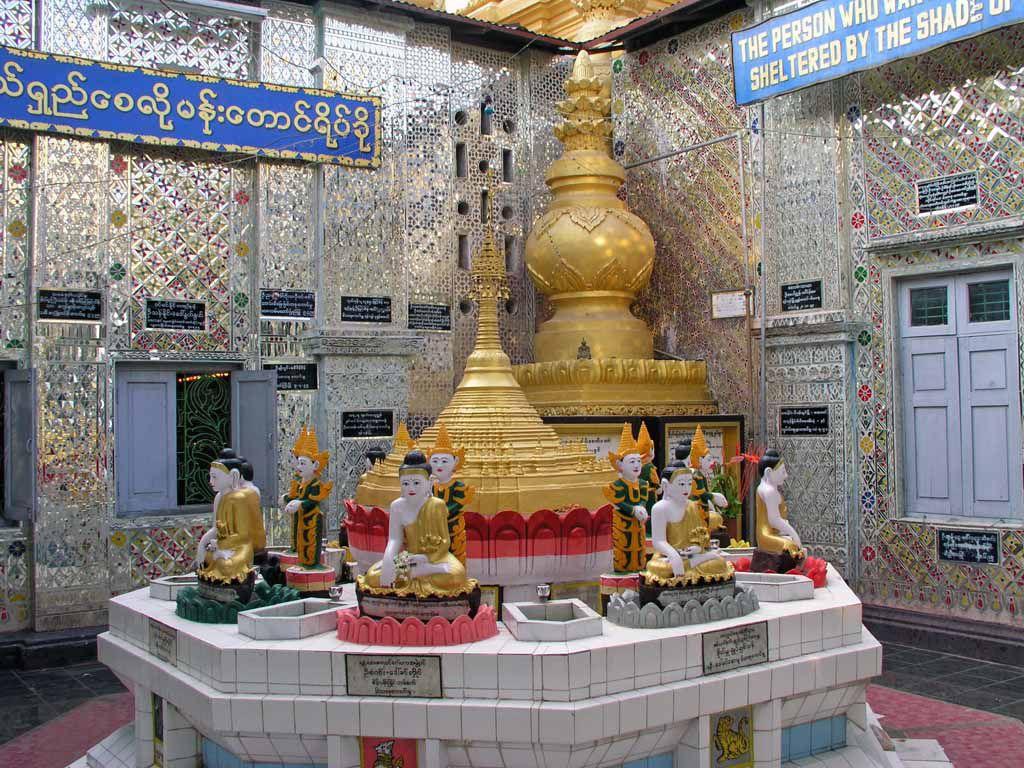 Mandalay, Tempel auf dem Mandalay Berg