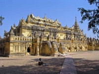 Inwa, das Maha-Aung-Mye-Bonzan-Kloster