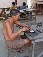 Sagaing, Silberschmied