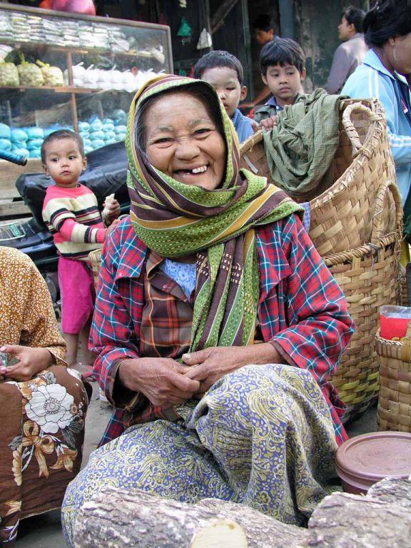 Chauk, Marktfrau