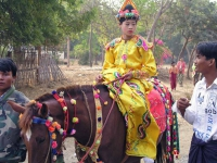 Twinywa / Bagan, eine Novizenfeier