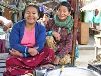 Chauk, Marktfrauen