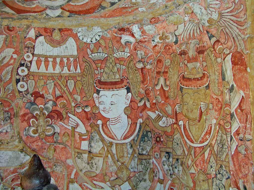 Hpo Win Daung Höhle, Malerei
