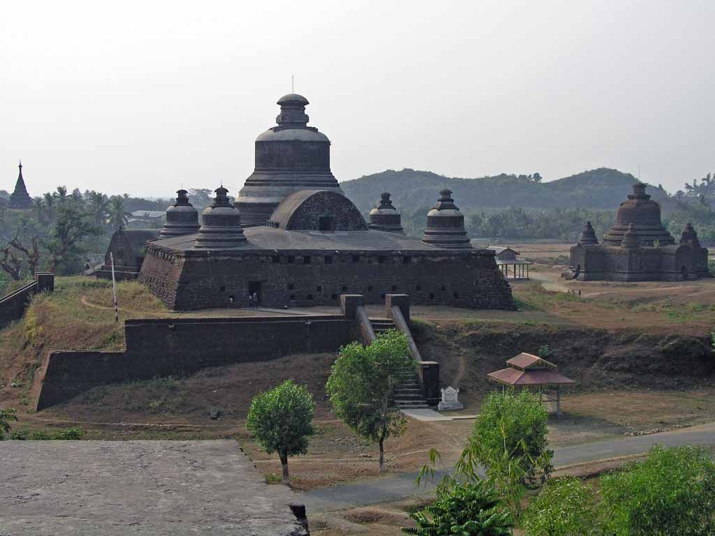 Mrauk U, die Htuk-Kant-Thein-Pagode (auch Dukkan-Thein-Pagode)