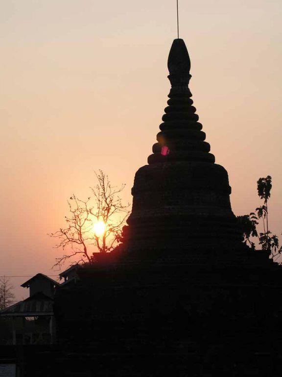 Mrauk U, die Sakya-Man-Aung-Pagode