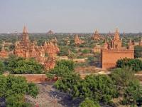 Blick über Bagan