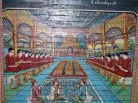 Mrauk U, Malerei in der Shit-Thaung-Pagode